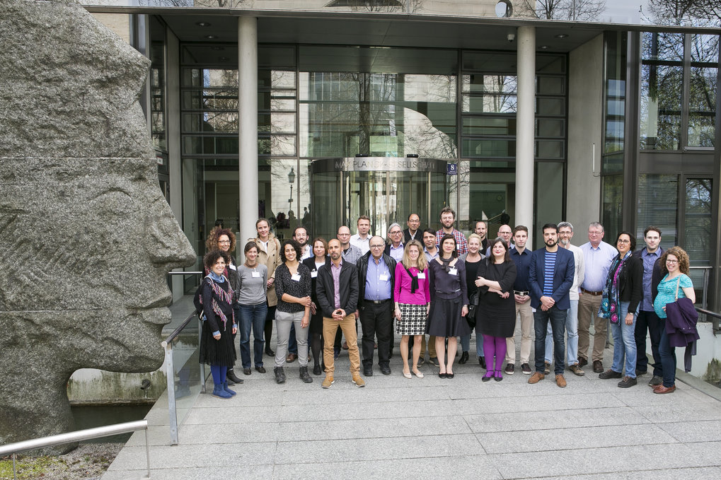 Minerva Meeting at Max Planck Headquaters in Munich