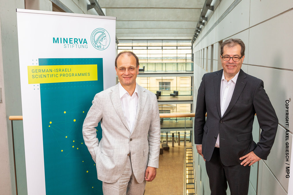 Managing Directors of the Minerva Stiftung